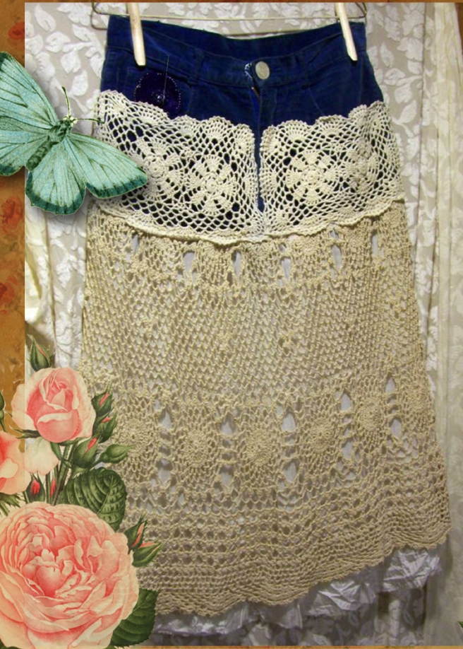blue-velvet-crochet-skirt-1